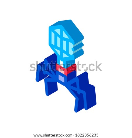 Virus Pathogen Element isometric icon vector illustration Stock photo © pikepicture