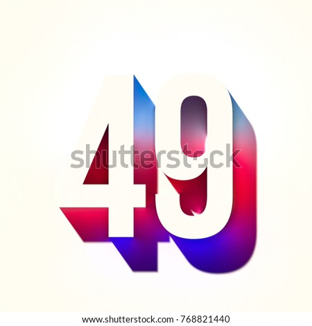 3d abstract graffiti spray tag font number backdrop on yellow Stock photo © Melvin07