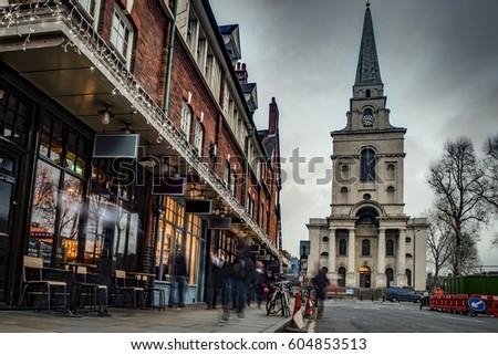 Christ Church Spitalfields in London Stock photo © chrisdorney