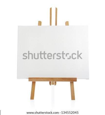 sztaluga · malarstwo · płótnie · kopia · przestrzeń · w · górę - zdjęcia stock © stevanovicigor