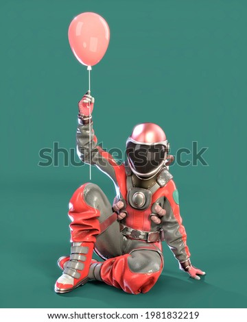 3d man sitting and holding bright star concept Stock photo © nithin_abraham