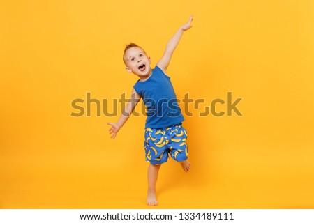 Summer tourist vacation, children playing around the little cave Stock photo © zurijeta