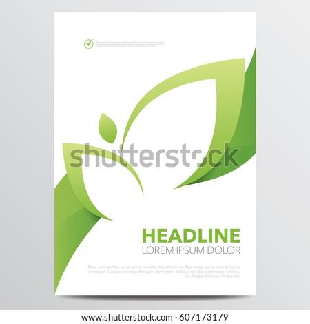 бизнеса журнала охватывать страница шаблон Сток-фото © SArts