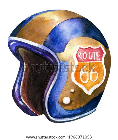 retro route 66 sign historic roud background travel california us stock photo © terriana