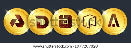 Divi Exchange Token - Crypto Currency Icon. Stock photo © tashatuvango