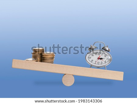 concept of private trade balanced weights  Stock photo © Olena