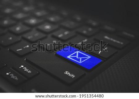 E-mail sleutel technologie Stockfoto © nomadsoul1