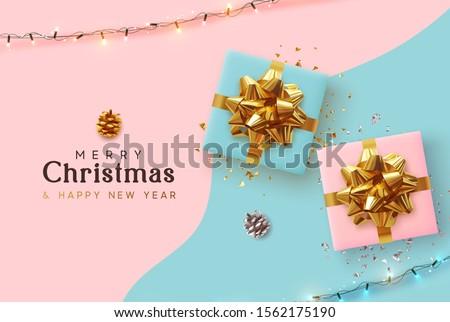 クリスマス 休日 サンゴ ヴィンテージ 休日 ストックフォト © Anneleven
