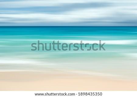 Absztrakt klasszikus tengerparti természet hosszú expozíció kilátás Stock fotó © Anneleven