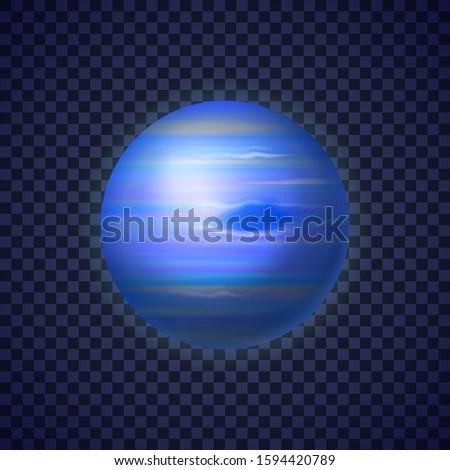 Realistisch planeet kleurrijk diep ruimte heldere Stockfoto © evgeny89