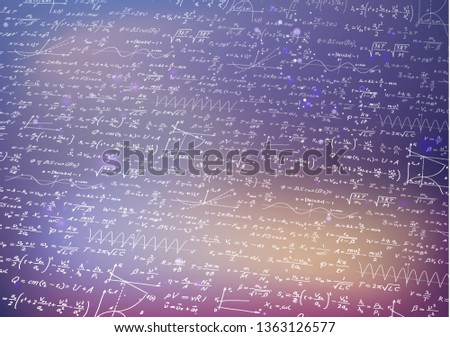 Matemática fórmulas turva roxo fundo ciência Foto stock © evgeny89