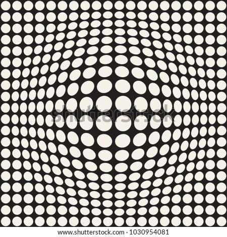 ハーフトーン 効果 錯覚 抽象的な 幾何学的な デザイン ストックフォト © samolevsky
