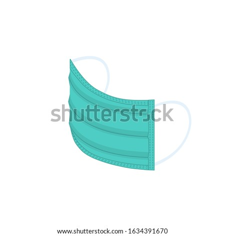 Protection Mask isometric icon vector illustration Stock photo © pikepicture
