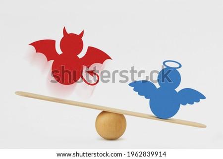 dominance of good over evil stock photo © adrian_n