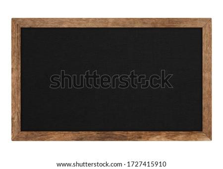 Tableau noir craie isolé blanche communication horizons Photo stock © goir