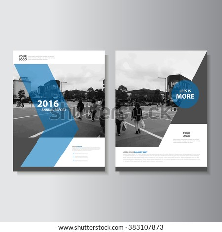 clean brochure template or magazine cover page design in minimal Stock photo © SArts