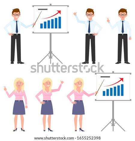 ビジネス ブロンド 女性 女性 ストックフォト © NikoDzhi