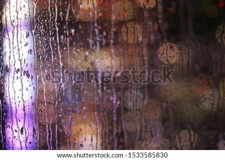 Giallo corallo rosa nero abstract bokeh Foto d'archivio © TasiPas