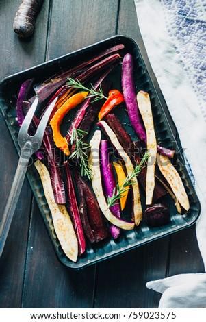 panela · completo · cair · sazonal · legumes · pronto - foto stock © Virgin