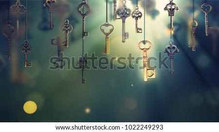 Sleutel jonge mooie vrouw geïsoleerd witte business Stockfoto © hsfelix