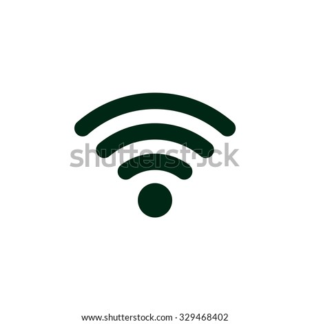 WIFI Icon Vector flat design style, isolated on modern background. Stock photo © kyryloff