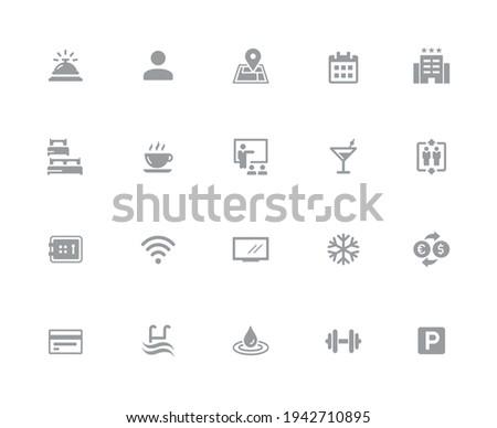 Iconos de la web iconos blanco vector trabajo Foto stock © Palsur