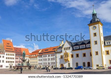 Freudenstein Castle, Freiberg, Saxony,Germany Stock photo © borisb17