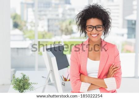 мнение довольно счастливым молодые афроамериканец Сток-фото © wavebreak_media