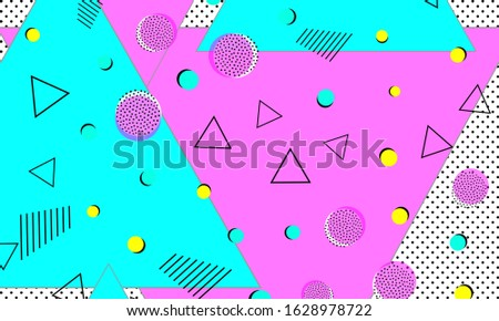 Retro grunge cyan halftone ink print on purple, abstract background Stock photo © evgeny89