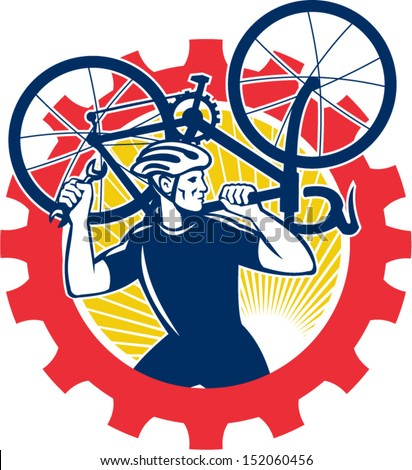 自転車 メカニック 自転車 肩 ストックフォト © patrimonio