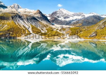 Gletsjer park Alaska USA verbazingwekkend landschap Stockfoto © Maridav