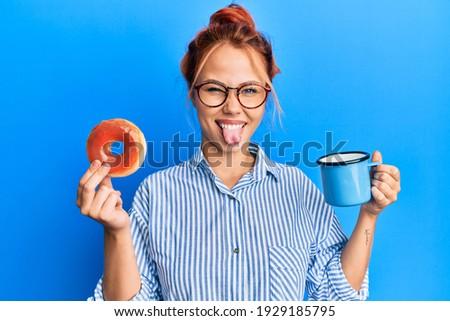 портрет забавный женщину из Сток-фото © deandrobot