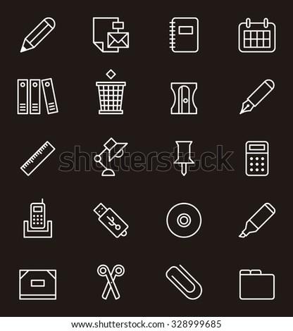 Kalkulator zwarty odizolowany biały biurko Zdjęcia stock © simpson33