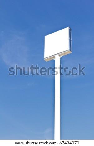 白 青空 便利 アドバタイズ ロゴ ストックフォト © tungphoto