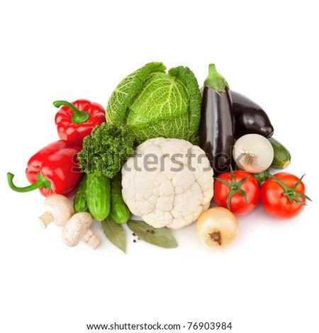 natuurlijke · organisch · groenten · koken · diner · ingrediënten - stockfoto © ewastudio