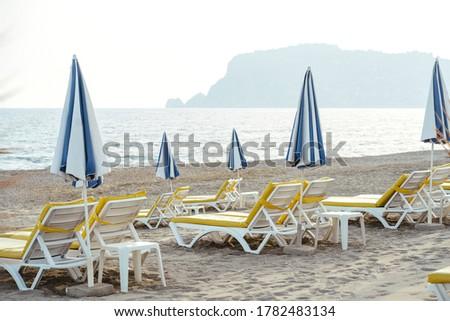Stock fotó: Gyönyörű · vízpart · tengerpart · kilátás · napos · idő · nyár