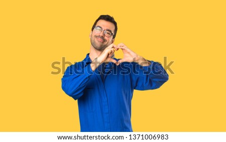 heart and tools concept renovation of heart isolated on white stock photo © tetkoren