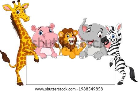 zebra · za · słoń · lasu · charakter · podróży - zdjęcia stock © markdescande