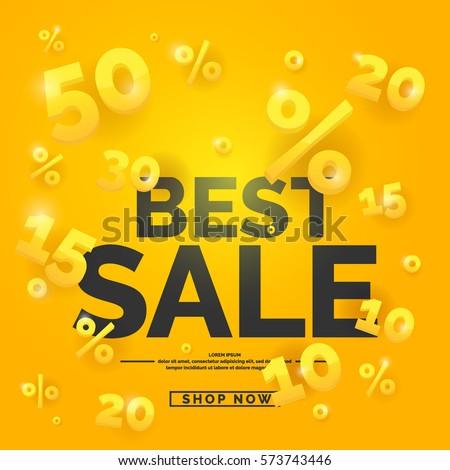 Legjobb vásár árengedmény hirdetés szalag utalvány Stock fotó © SArts