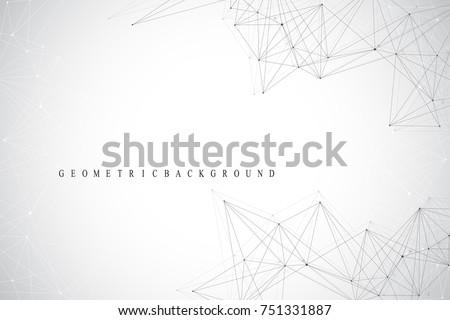 Streszczenie 3D chaotyczny cząstki czerwony Zdjęcia stock © fresh_5265954