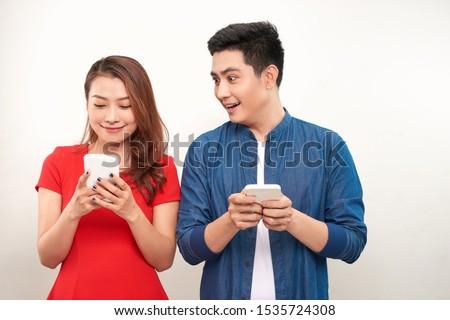 Mulher bonita telefone móvel cabriolé mulher jovem verão dia Foto stock © boggy