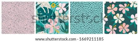 vektör · model · gül · çiçekler - stok fotoğraf © smeagorl