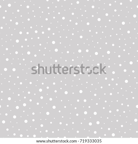 Stock photo: Dot art vector snowflake - Christmas or winter pattern, traditional Aboriginal dot painting design,