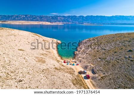 列島 のどかな ビーチ 石 砂漠 ストックフォト © xbrchx