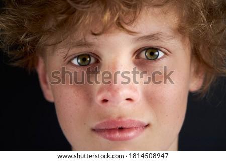 Teen permanente Stockfoto © ElenaBatkova