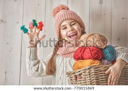 счастливым мало небольшой ребенка белый трикотажный Сток-фото © vkstudio