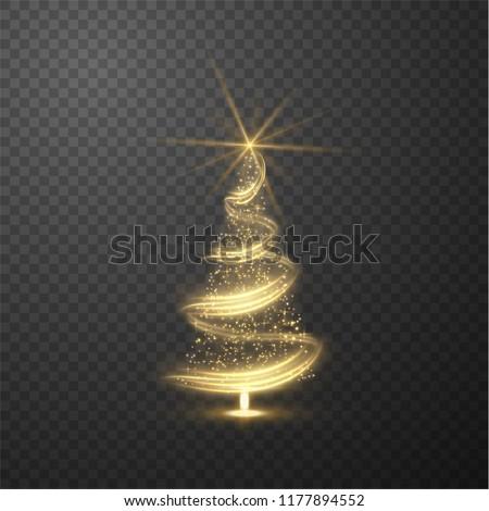 Izzik üdvözlőlap karácsonyfa ajándékok felirat boldog új évet Stock fotó © lissantee