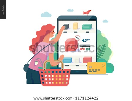 Product selection vector concept metaphor. Stock photo © RAStudio
