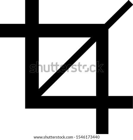 Gewas symbool icon ontwerp teken ruimte Stockfoto © nickylarson974
