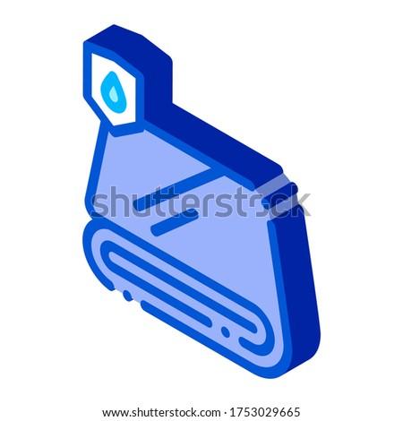 à prova d'água materialismo tecido toalha isométrica ícone Foto stock © pikepicture